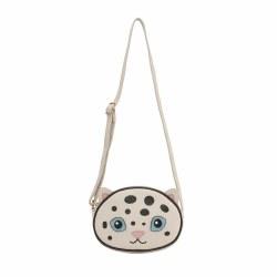 Snow Leopard Bag Pearl