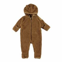 Umeko Fleece Suit Sand NB