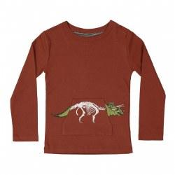 Triceratops LS Tee Sienna 5