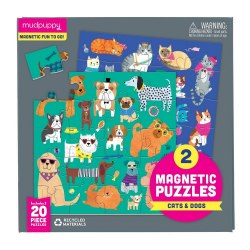 Magnetic Puzzles Cats & Dogs