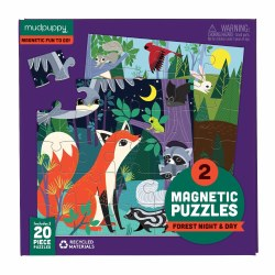 Magnetic Puzzles Forest Night & Day