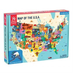 Geography Puzzle: USA