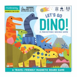 Let's Go Dino! Magnetic Board Game