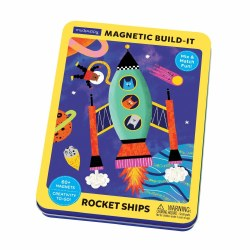 Rocket Ships Magnet Set