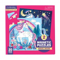 Magnetic Puzzles Magical Unicorn