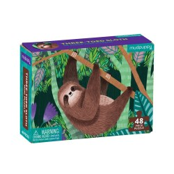 Mini Puzzle Three-Toed Sloth