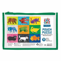 Eric Carle Brown Bear Pouch Puzzle