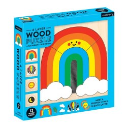 Rainbow Friends Wood Layer Puzzle