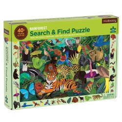Rainforest Search & Find 64-Piece Puzzle