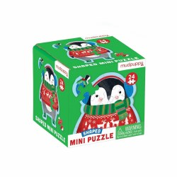 Shaped Mini Puzzle Penguin
