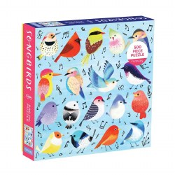 Songbirds 500-Piece Puzzle