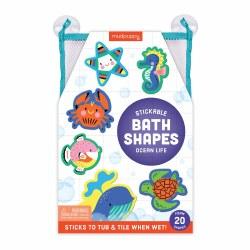 Stickable Foam Bath Shapes Ocean Life