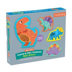 Touch & Feel Puzzle: Dinosaurs