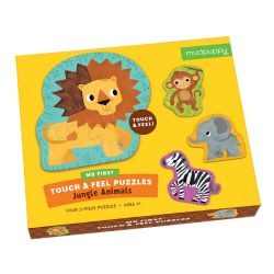 Touch & Feel Puzzle: Jungle Animals