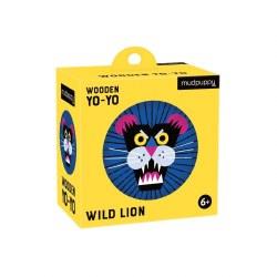 Wooden Yo-Yo Wild Lion