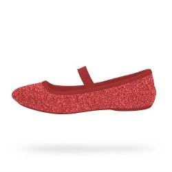 Margot Bling Flats-Red 6