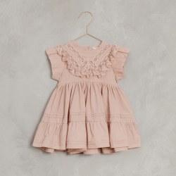 Goldie Dress Dusty Rose 12M