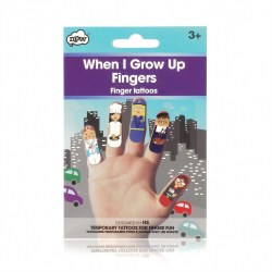 Finger Puppet Tattoos- When I Grow Up