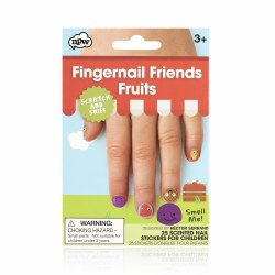 Fingernail Friends- Fruits Scratch & Sniff