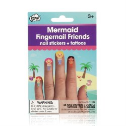 Fingernail Friends- Mermaid