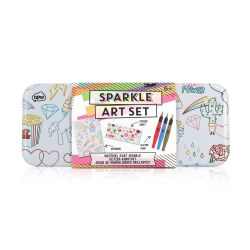 Sparkle Sketch & Color Art Set