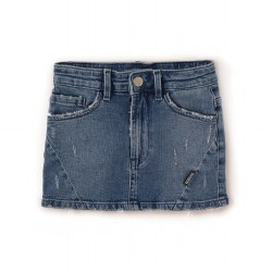 Denim Mini Skirt 8/9