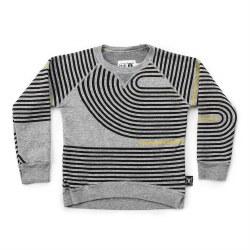 Spiral Sweatshirt Grey 2/3