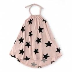 Star Halter Dress Pink 2/3