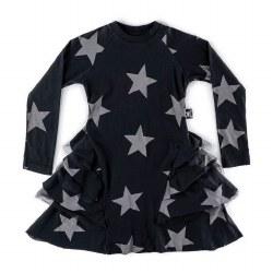 Star Layered Dress Black 4/5