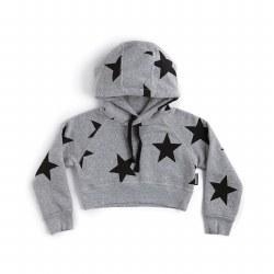 Star Mini Hoodie Grey 4/5
