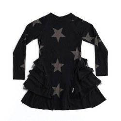Star Layered Dress Black 8/9