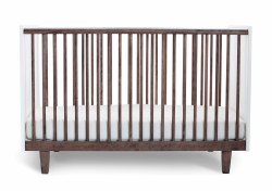 Oeuf Rhea Crib-Walnut
