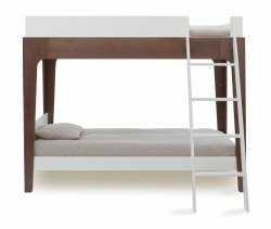Oeuf Perch Bunk Bed-Walnut