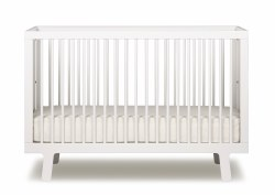 Oeuf Sparrow Crib-White