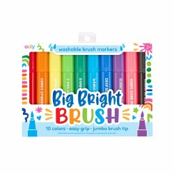 Big Bright Brush Markers 10 Pack
