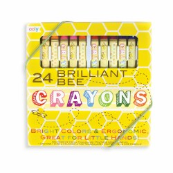 Brilliant Bee Crayons 24 Pack