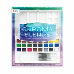 Chroma Blends Travel Watercolor Set