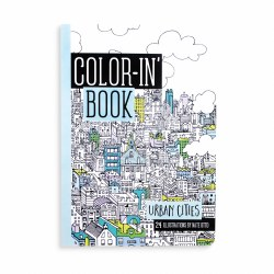 Color'in Book Travel Size Urban Cities