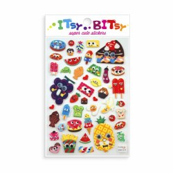 Itsy Bitsy Stickers Food