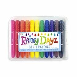 Rainy Dayz Gel Crayons 12 Pack