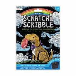 Scratch & Scribble Mini Kit Playful Pups
