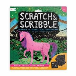Scratch & Scribble Kit Magical Unicorn