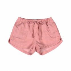 Chambray Shorts Pink 2