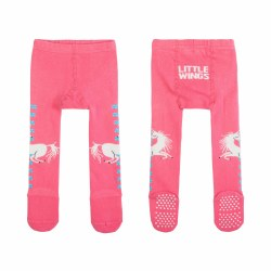 Baby Tights-Unicorn Pink L