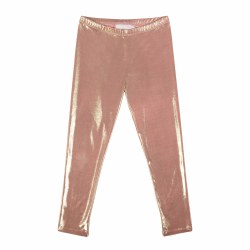 Metallic Legging Pink/Gold 10