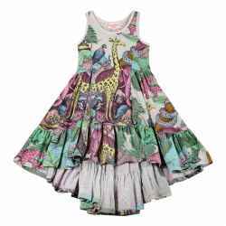 Protect Jungle Bustle Dress 3