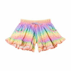 Rainbow Heart Frill Short 2