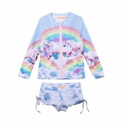 Rainbow Unicorn Rash Set 2