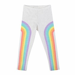 Rainbows Leggings Grey 2