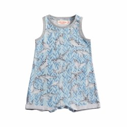 Seals Tank Romper NB